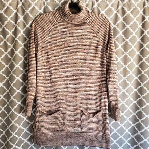 Eight Eight Eight Brown Sweater Dress Sz M